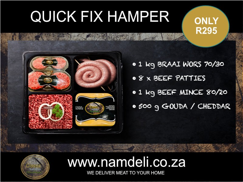 Quick Fix Hamper
