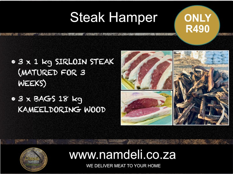 Beef Steak meat hamper