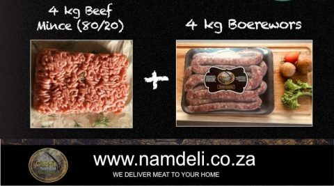 Fresh Mince and Boerewors