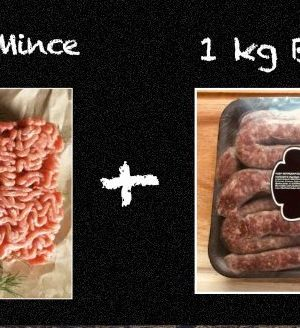 Premium Mince and Boerewors