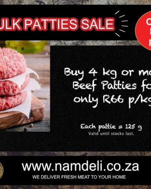 Bulk Pattie Sale