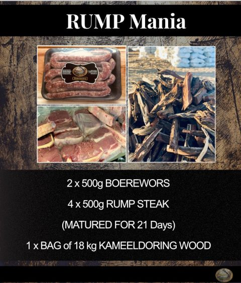 Rump Mania Steak and Boerewors Combo