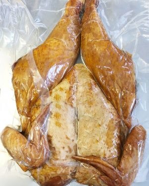 whole chicken smoked